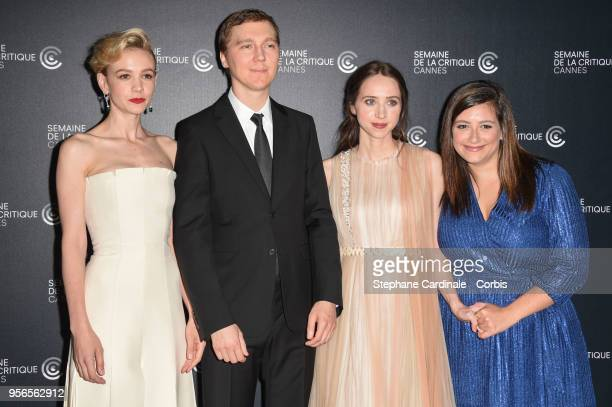 Carey Mullingan Paul Dano Zoe Kazan and guest attends the Photocall for 'Wildlife' during the 71st annual Cannes Film Festival at L'Espace Miramar on...