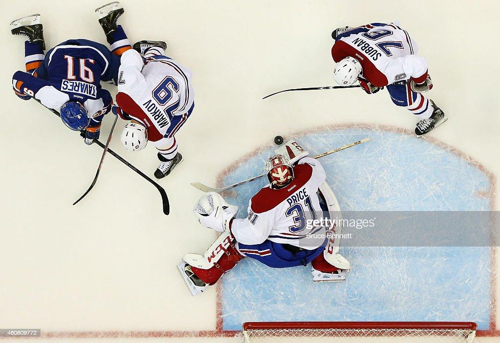 Montreal Canadiens v New York Islanders : News Photo