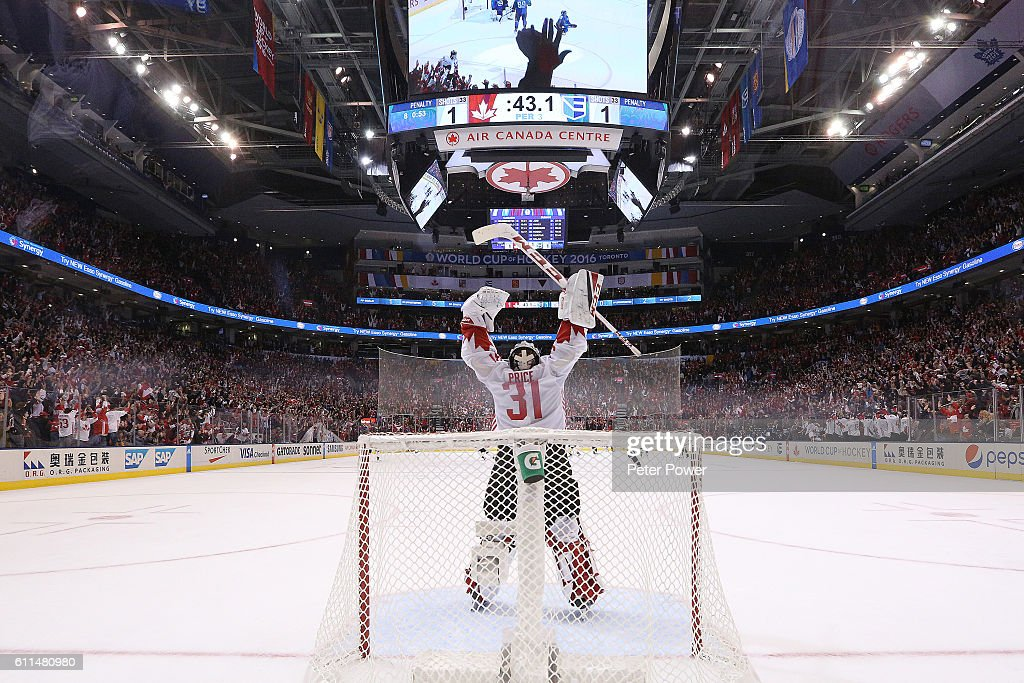 World Cup Of Hockey 2016 Final - Game Two - Canada v Europe : News Photo