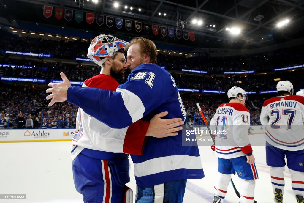 2021 NHL Stanley Cup Final - Game Five : News Photo