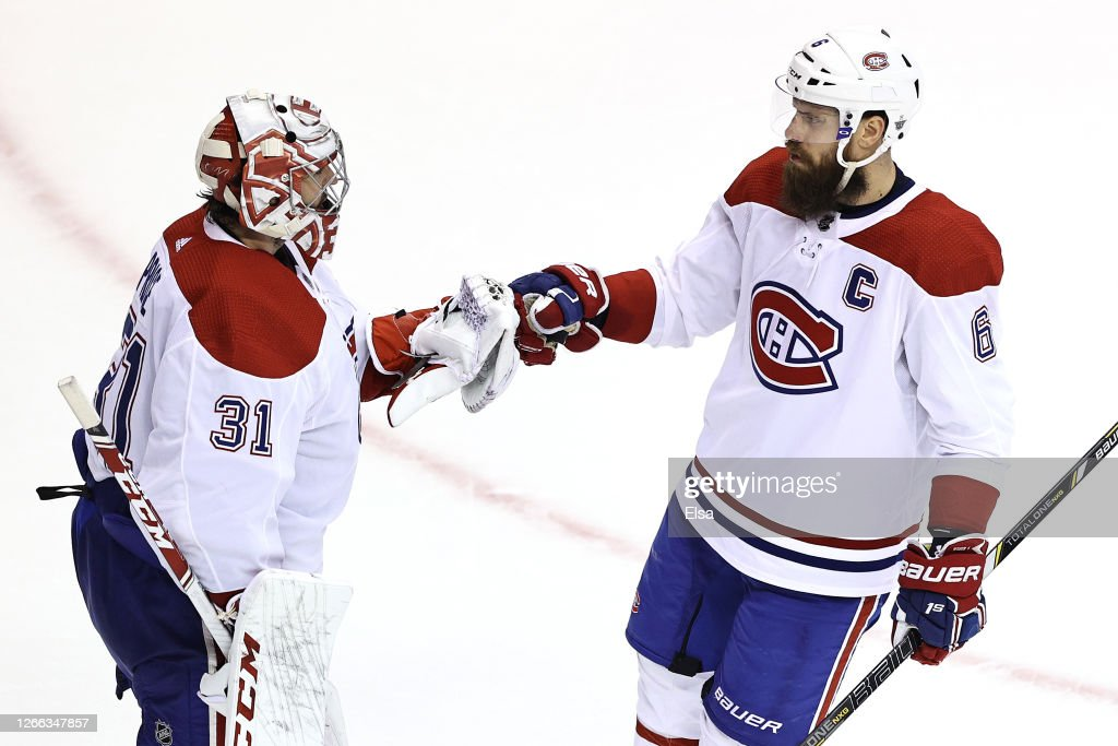 Montreal Canadiens v Philadelphia Flyers - Game Two : News Photo