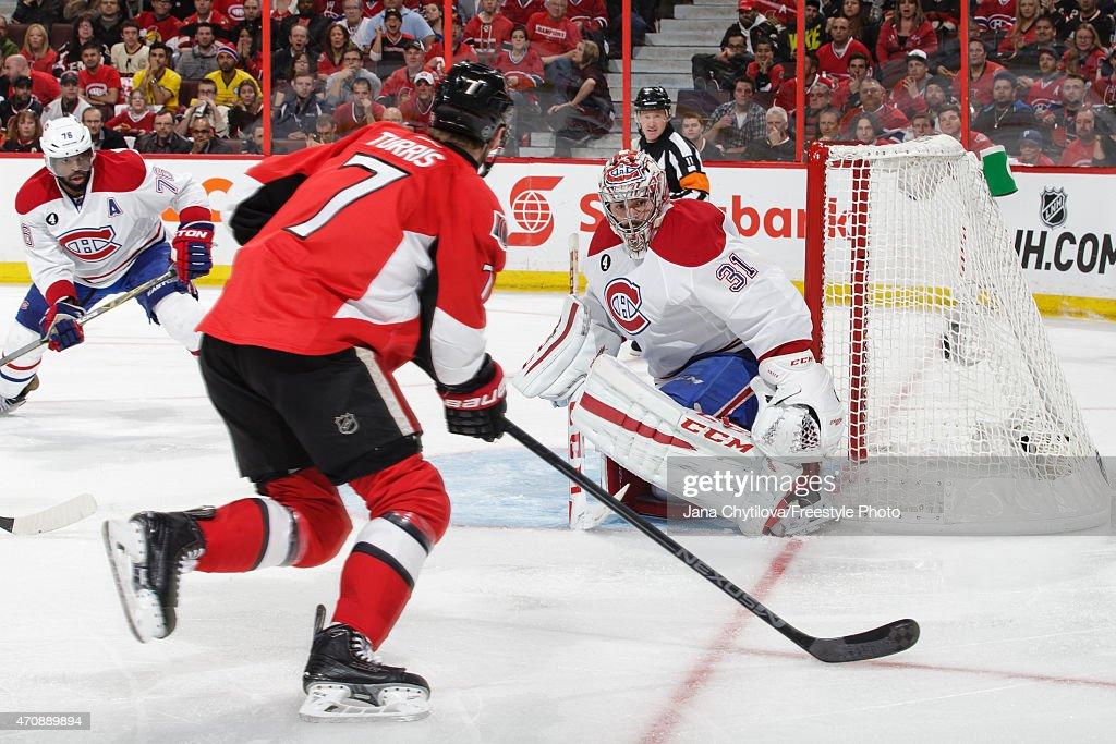Montreal Canadiens v Ottawa Senators - Game Four : News Photo