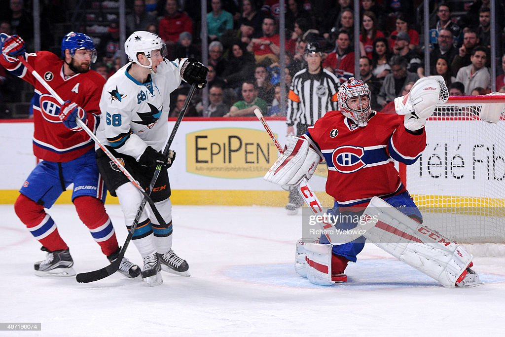 San Jose Sharks v Montreal Canadiens : News Photo