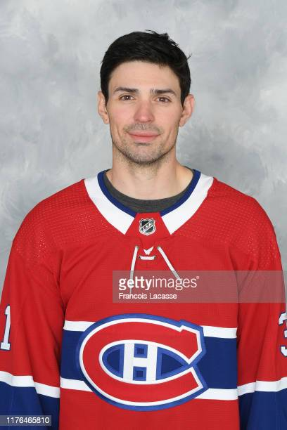 Carey Price of the Montreal Canadiens poses for his official headshot for the 2019-2020 season on September 13, 2019 at the Bell Sports Complex in...