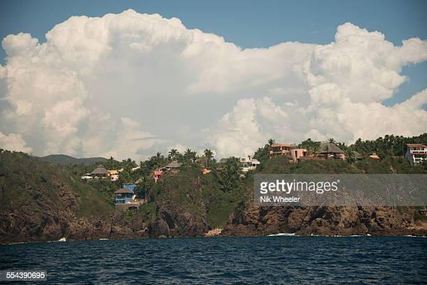 careyes coastline - marina wheeler foto e immagini stock