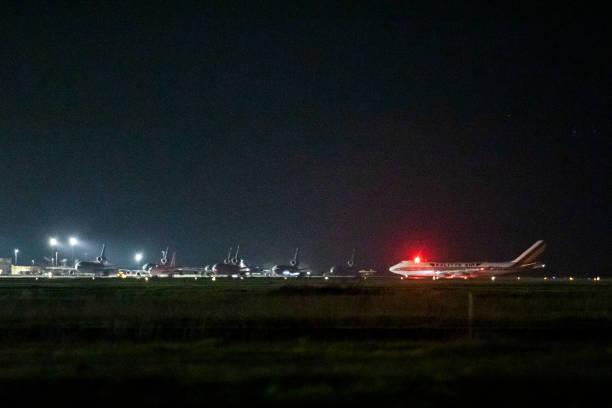 USA: Flight Evacuating American Cruise Ship Passengers Exposed To Coronavirus In Japan Arrives In US