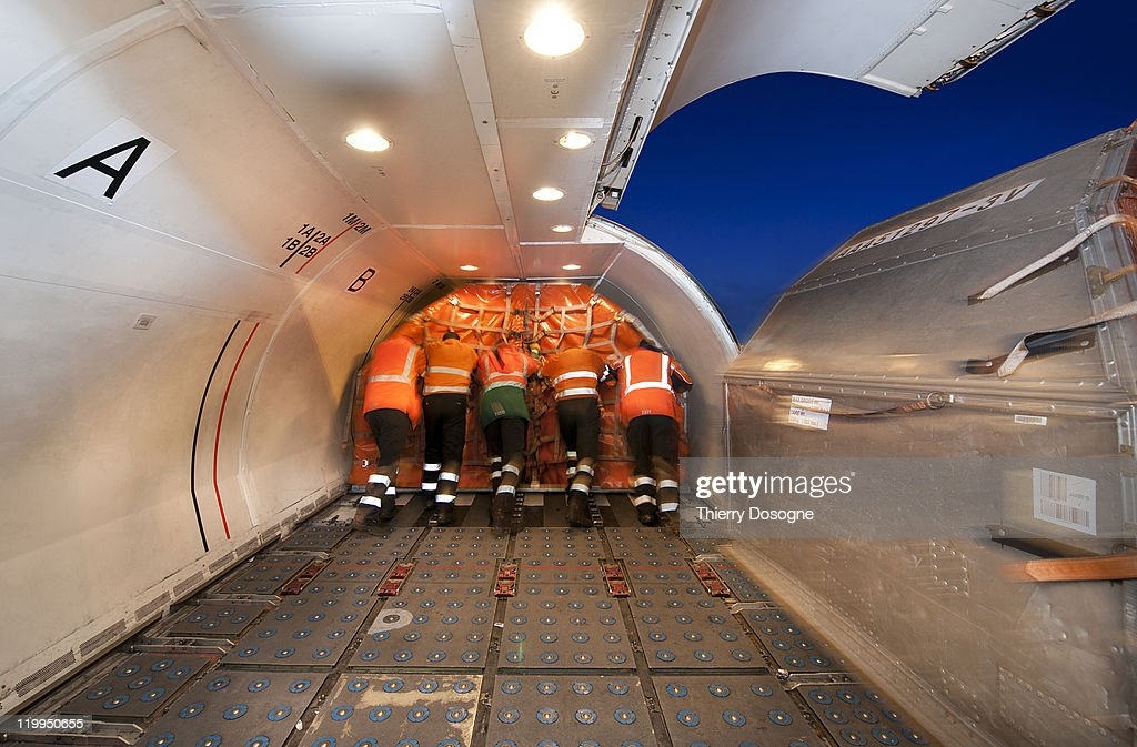 Cargo airplane : Stock Photo