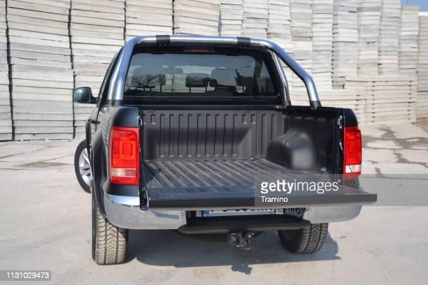 Cargo bed in Volkswagen pick-up truck