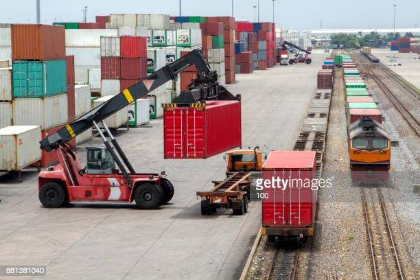 cargo container - container stock pictures, royalty-free photos & images