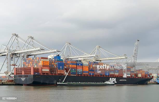 Cargo container ship APL Raffles