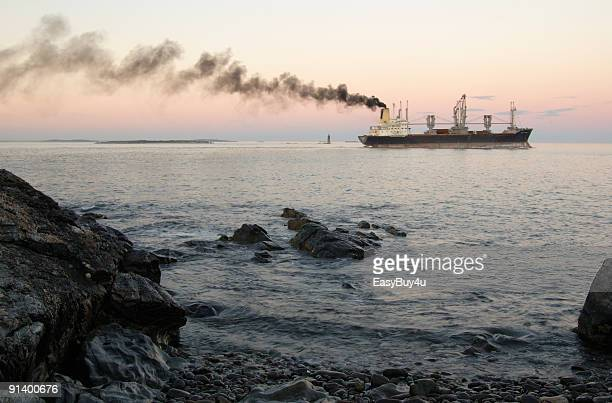 cargo pollution - ship stock pictures, royalty-free photos & images