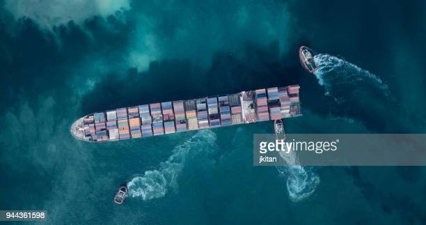 cargo ship - boat stock photos and pictures