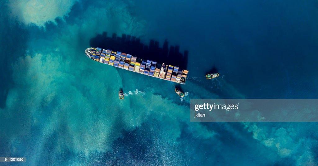貨物船 : ストックフォト