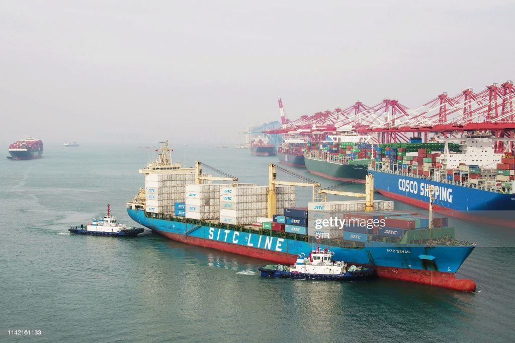 CHINA-ECONOMY-TRADE : News Photo