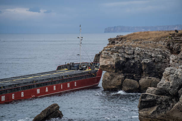 BGR: Fuel Charged Ship Grounded On Bulgarian Coast