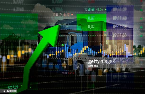 cargo transportation rise - consumerism stock pictures, royalty-free photos & images
