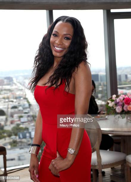 Cari Champion attends Big Love Fest Women's Networking Event at The Jeremy Hotel on February 14 2018 in Los Angeles California