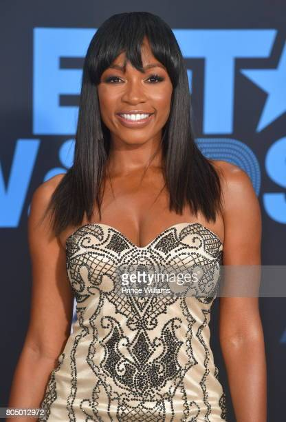 Cari Champion attends the 2017 BET Awards at Microsoft Theater on June 25 2017 in Los Angeles California