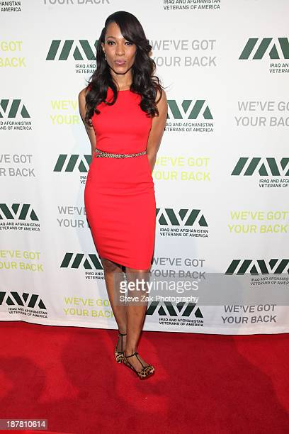 Cari Champion attends the Iraq And Afghanistan Veterans of America 7th annual Heroes Gala at Cipriani 42nd Street on November 12 2013 in New York City