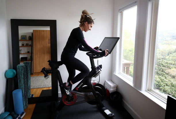 CA: Peloton Stock Goes Up As Home Workouts Increase