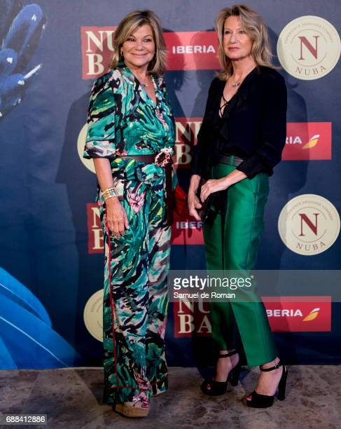 Cari Lapique and Miriam Lapique attend the Nuba 2017 Collection Presentation on May 25, 2017 in Madrid, Spain.