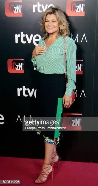 Cari Lapique attends 'Corazon' TV Programme 20th Anniversary at Alma club on June 27 2017 in Madrid Spain