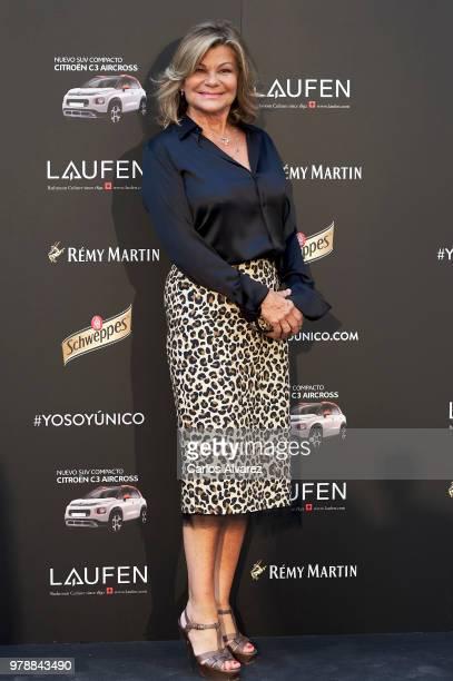 Cari Lapique attends 'Hombre Unico' award 2018 at the Santo Mauro Hotel on June 19 2018 in Madrid Spain