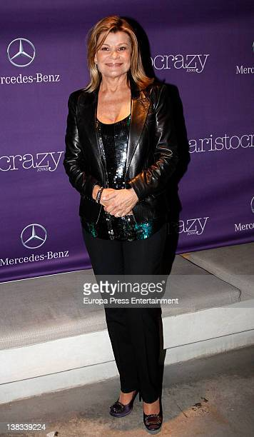 Cari Lapique attends the Aristocrazy party during MercedesBenz Fashion Week Madrid A/W 2012 on February 3 2012 in Madrid Spain