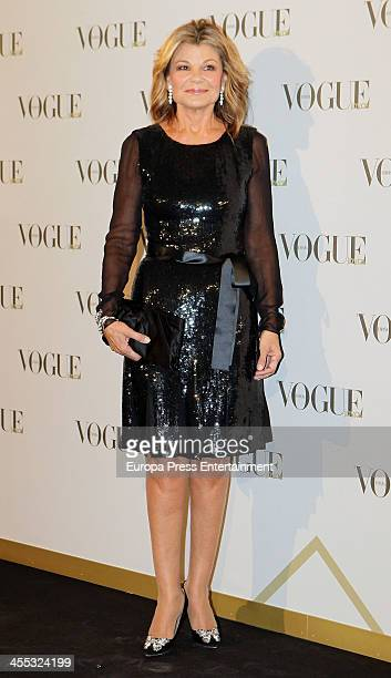 Cari Lapique attends Vogue Joyas 2013 Awards on December 11 2013 in Madrid Spain