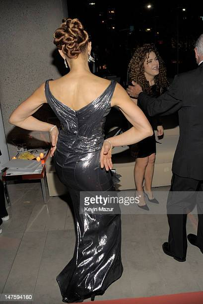 Cari Modine and Bernadette Peters attends the 2010 CFDA Fashion Awards at Alice Tully Hall Lincoln Center on June 7 2010 in New York City