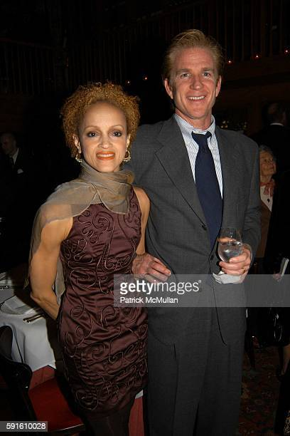 Cari Modine and Matthew Modine attend A Private Dinner for Bob Mackie in Celebration of his Upcoming Auction at Christie's at Le Grenouille on...
