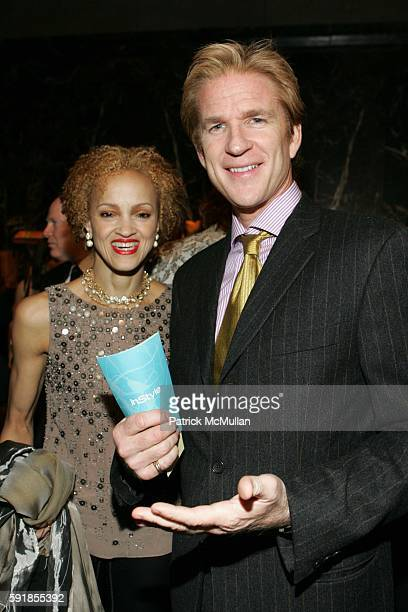Cari Modine and Matthew Modine attend Project ALS Announces 8th Annual Tomorrow Is Tonight Benefit Hosted by Katie Couric at Cipriani 42nd St on...