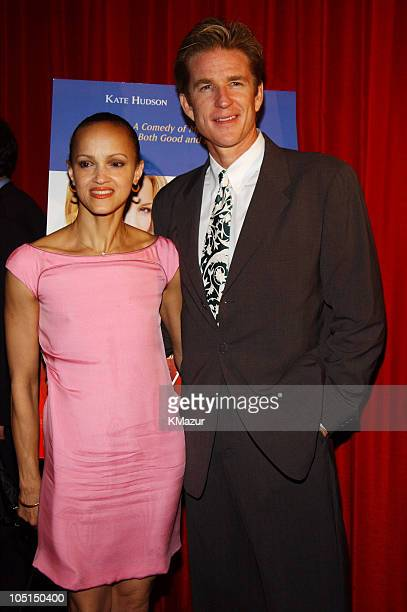 Cari Modine and Matthew Modine during Le Divorce New York Premiere After Party at The Plaza Hotel in New York City New York United States