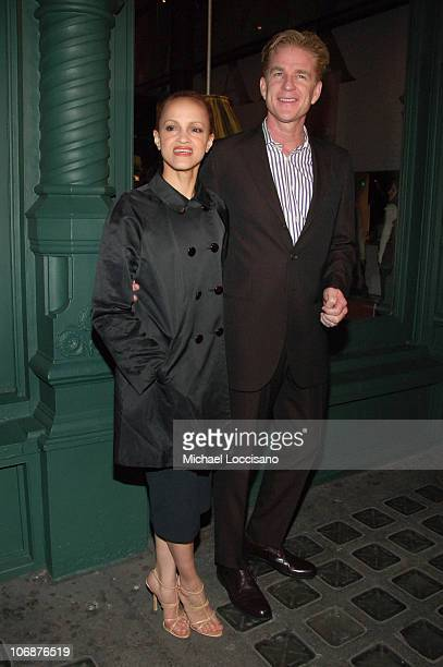 Cari Modine and Matthew Modine during Prada Waist Down Skirts By Miuccia Prada New York Exhibition and Store Opening April 18 2006 at Prada Epicenter...