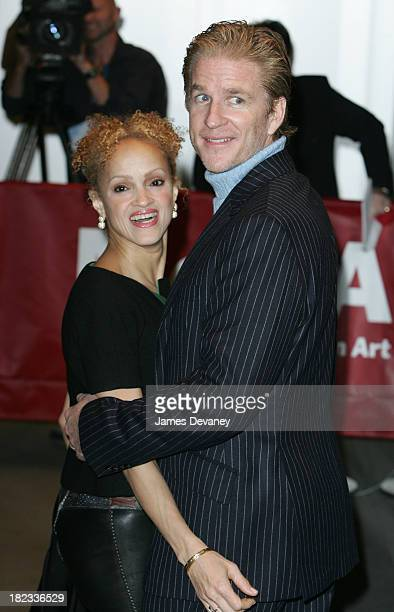 Cari Modine and Matthew Modine during TRH The Prince of Wales and The Duchess of Cornwall Attend the Museum of Modern Art Gala at Museum of Modern...