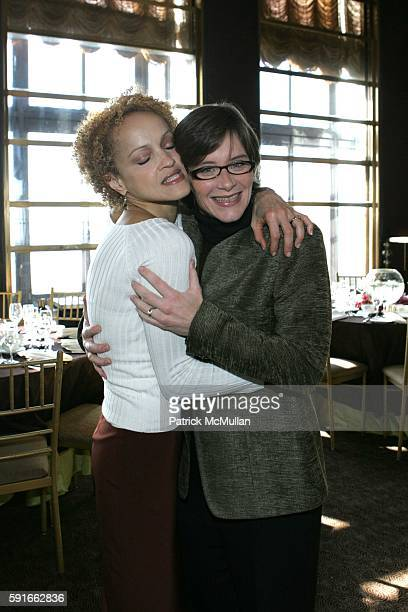 Cari Modine and Nancy Mahn attend God's Love We Deliver Holiday Catalog Shopping Luncheon at The Rainbow Room on November 30 2005 in New York City