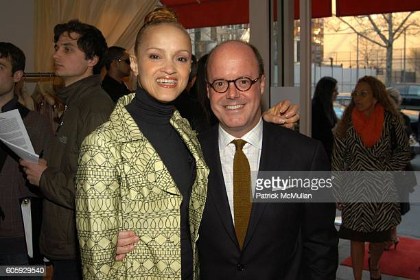 Cari Modine and Robert Burke attend Andre Leon Talley and the CFDA Invite You to Celebrate the Grand Opening of the Tracy Reese Flagship Boutique at...