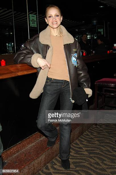 Cari Modine attends ADIDAS Y3 Autumn / Winter 2006 Collection at Roseland Ballroom on February 8 2006 in New York