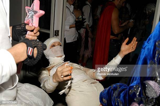 Cari Modine attends Allison Sarofim's 2005 Halloween Party at West Village on October 29 2005 in New York City