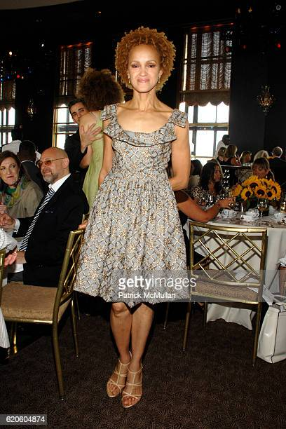 Cari Modine attends FIT Couture Council Award Luncheon honoring ISABEL TOLEDO at The Rainbow Room on September 3 2008 in New York City