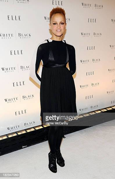 Cari Modine attends the 25th anniversary of ELLE and the launch of ELLEments of Personal Style with White House Black Market at MOMA on October 26...