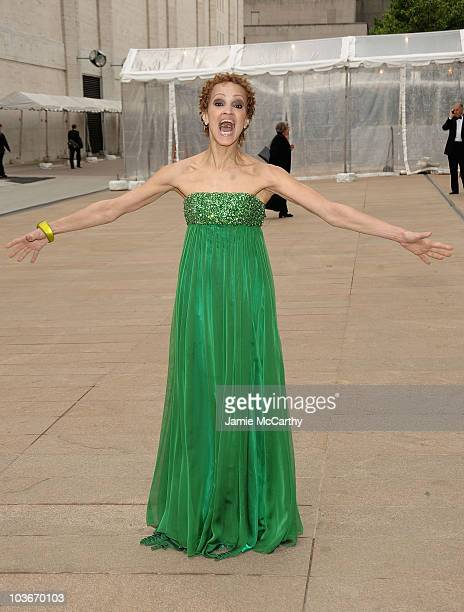 Cari Modine attends the 69th annual American Ballett Theatre spring gala at The Metropolitan Opera House on May 18 2009 in New York City