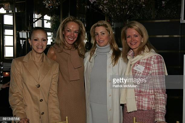 Cari Modine Cece Cord Serena Boardman and Blaine Trump attend Authors In Kind 2005 God's Love We Deliver Hosts It's 2nd Annual Luncheon at The...