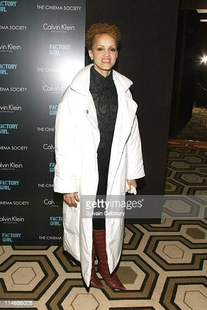 Cari Modine during The Cinema Society and Calvin Klein Host a Screening of Factory Girl Inside Arrivals at Tribeca Grand Screening Room at 2 Avenue...