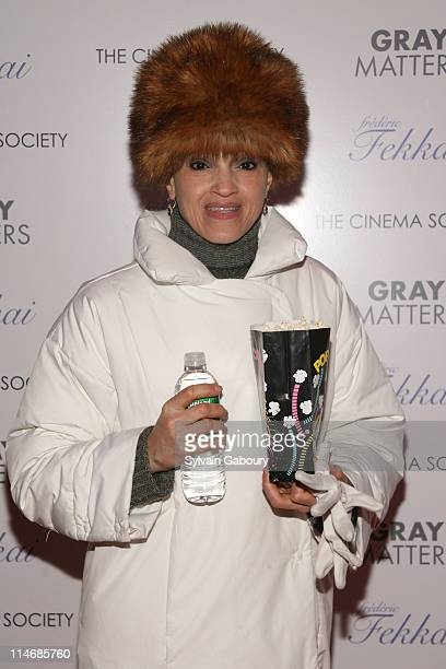 Cari Modine during The Cinema Society and Frederic Fekkai Host a Screening for Gray Matters Arrivals at IFC Film Center at 323 Avenue of The Americas...