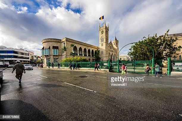 Caribbean, Antilles, Lesser Antilles, Barbados, Bridgetown, Parliament building