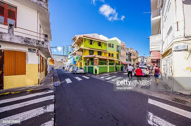 Caribbean, Antilles, Lesser Antilles, Martinique, Fort-de-France, downtown