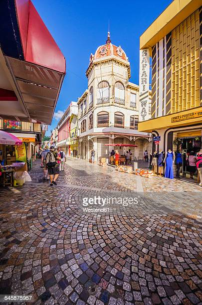 Caribbean, Antilles, Lesser Antilles, Martinique, Fort-de-France, pedestrian area