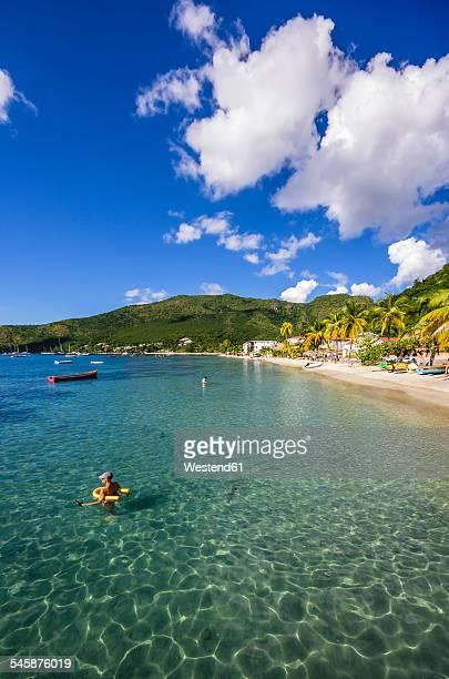 Caribbean, Antilles, Lesser Antilles, Martinique, Les Anse dArlet, beach