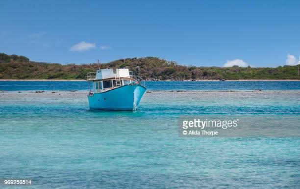 Caribbean Blue Boat